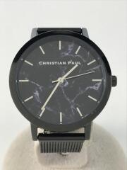 クリスチャンポール/クリスチャンポール/クォーツ腕時計/アナログ/ステンレス/BLU