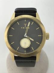 トリワ/クォーツ腕時計/アナログ/レザー/SPST101