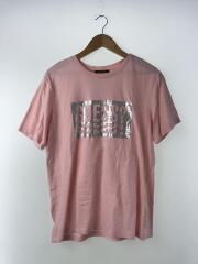 Tシャツ/XL/コットン/PNK/