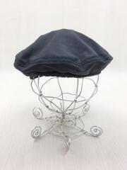 ベレー帽/M/ウール/BLK