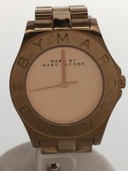 マークバイマークジェイコブス/MBM3127/クォーツ腕時計/アナログ/ステンレス/PNK/GLD