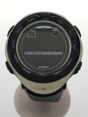 腕時計/デジタル/ラバー/BLK/WHT
