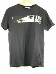 フラッグスタッフ/EYE BOX/19SS-SPOT-FS-05/Tシャツ/M/コットン/BLK