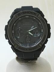 ソーラー腕時計・G-SHOCK/デジアナ/ステンレス/BLK/電波 G-STEEL  GST-W110BD-1BJF