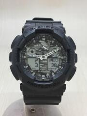 クォーツ腕時計・G-SHOCK/デジアナ/ラバー/BLK