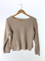 セーター(薄手)/36/コットン/BEG/CWNT196014