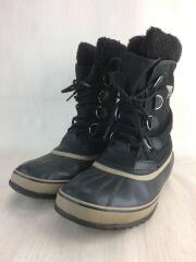 ブーツ/28cm/BLK/ポリエステル/1440-011/PAC NYLON/スノーブーツ/内側毛