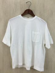 Tシャツ/O/コットン/WHT/15S-05001/裏毛半袖スウェット