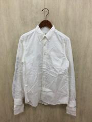 長袖シャツ/2/コットン/ホワイト/UE-180021