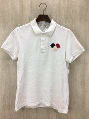 ポロシャツ/XS/コットン/WHT