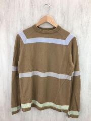セーター(薄手)/S/ウール/BRW