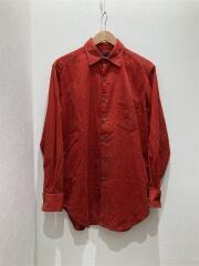 OLD/長袖シャツ/M/コットン/RED