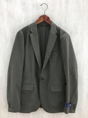 テーラードジャケット/XL/ポリエステル/KHK/NUC82JKT001OS/フランネルジャケット