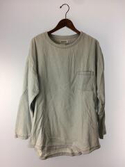 長袖Tシャツ/XL/コットン/IDG/無地