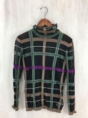 セーター(薄手)/FREE/コットン/BLK