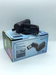ビデオカメラ GAUDI GHV-DV25HDAK [ブラック]