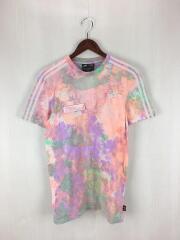 Tシャツ/M/コットン/マルチカラー/×pharrell williams HU HOLI TEE