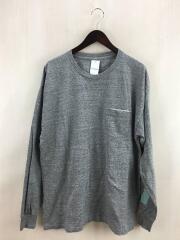 長袖Tシャツ/40/コットン/GRY