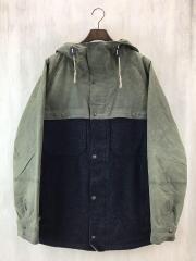 ジャケット/M/コットン/KHK
