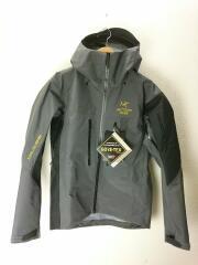 Alpha SV Jacket/マウンテンパーカ/M/ゴアテックス/GORE-TEX/GRY/止水ファスナー