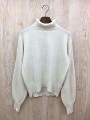 セーター(薄手)/--/ウール/WHT
