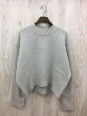 セーター(厚手)/ウール/アイボリー
