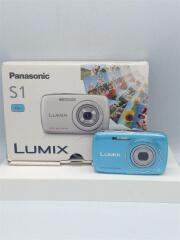 デジタルカメラ LUMIX DMC-S1-A [ブルー]