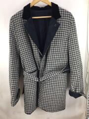 17AW/REVERSIBLE NETWORK CHECK JACKET/コート/2/ウール/17A32