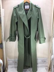 17AW LOOK29/Polyester OX coat/トレンチコート/36/KHK/TP72-FA230