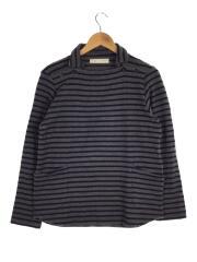 長袖Tシャツ/2/コットン/GRY/ボーダー