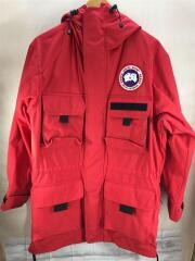 18AW Harbour Jacket/マウンテンパーカ/XS/ポリエステル/RED/4181MJW