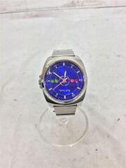 クォーツ腕時計/アナログ/ステンレス/シルバー/GN-4-S