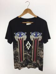 2015SS/TIGER SHIRTS/Tシャツ/S/コットン/BLK
