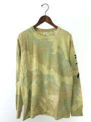 NANPOU L/S TEE/長袖Tシャツ/M/コットン/YLW/19ss-TS9-002
