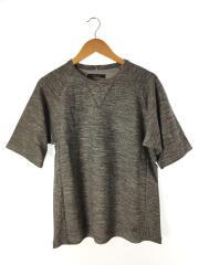 パイルショートスリーブTee/Tシャツ/M/コットン/GRY/25553XIA