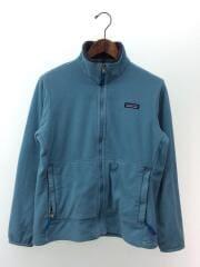 2000AW/フリースジャケット/ジップアップ/裏起毛/M/ポリエステル/BLU/28380
