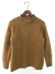 ハイネックミドルゲージセーター/セーター(厚手)/M/ウール/BEG/596-7260551