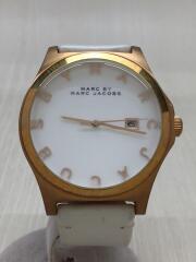 Henry(ヘンリー)/クォーツ腕時計/アナログ/レザー/WHT/WHT/MBM1212
