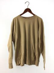 SUPER HIGH GAUGE SWEAT P/O/長袖Tシャツ/5/コットン/BEG/A8AP01SU