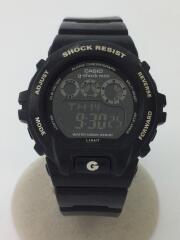 G-SHOCKMINI/裏ヨゴレ有/クォーツ腕時計/デジタル/BLK/BLK/GMN-691