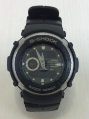 クォーツ腕時計/アナログ/ラバー/G-SHOCK/G-300