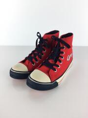 carp/キッズ靴/22.5cm/スニーカー/カープ/ハイカット/赤/レッド