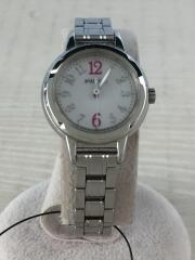 ソーラー腕時計/アナログ/ステンレス/SLV/SLV/E031-R005421