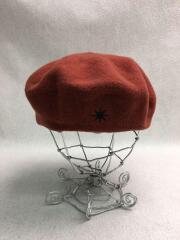ベレー帽/--/ウール/BRD/無地/AKI01057