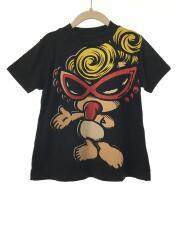 Tシャツ/80cm/BLK/ミニちゃんリブハイネックスウェット地BIG半袖/17103344