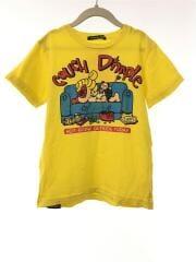 Tシャツ/120cm/コットン/YLW/プリント/17241271