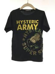 Tシャツ/110cm/コットン/BLK/プリント/16241287