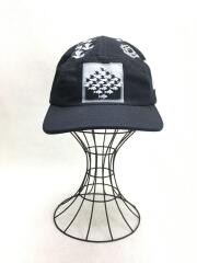 17SS/M.C. Escher Camp Cap/キャップ/--/コットン/BLK/総柄/キャンプキャップ