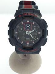 クォーツ腕時計・G-SHOCK/デジアナ/NVY