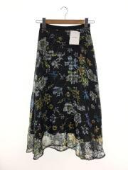 グレースクラス/ロングスカート/36/ポリエステル/BLK/花柄/スカート/2812 1108-0